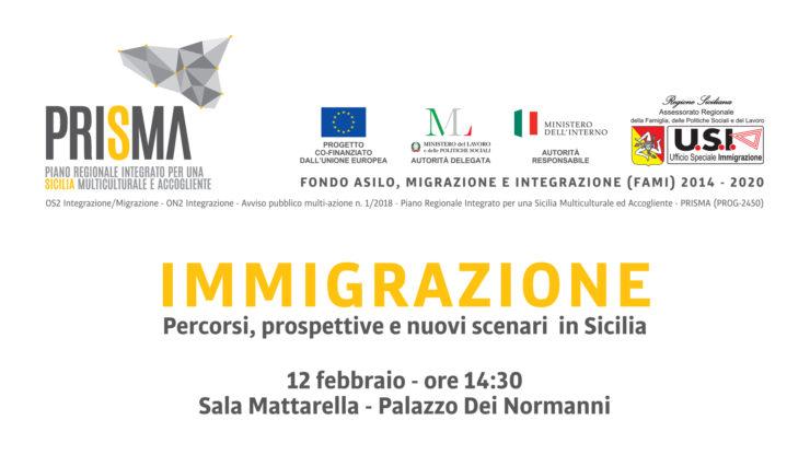"""""""Immigrazione – Percorsi, prospettive e nuovi scenari"""":  a Palazzo dei Normanni il convegno di presentazione"""