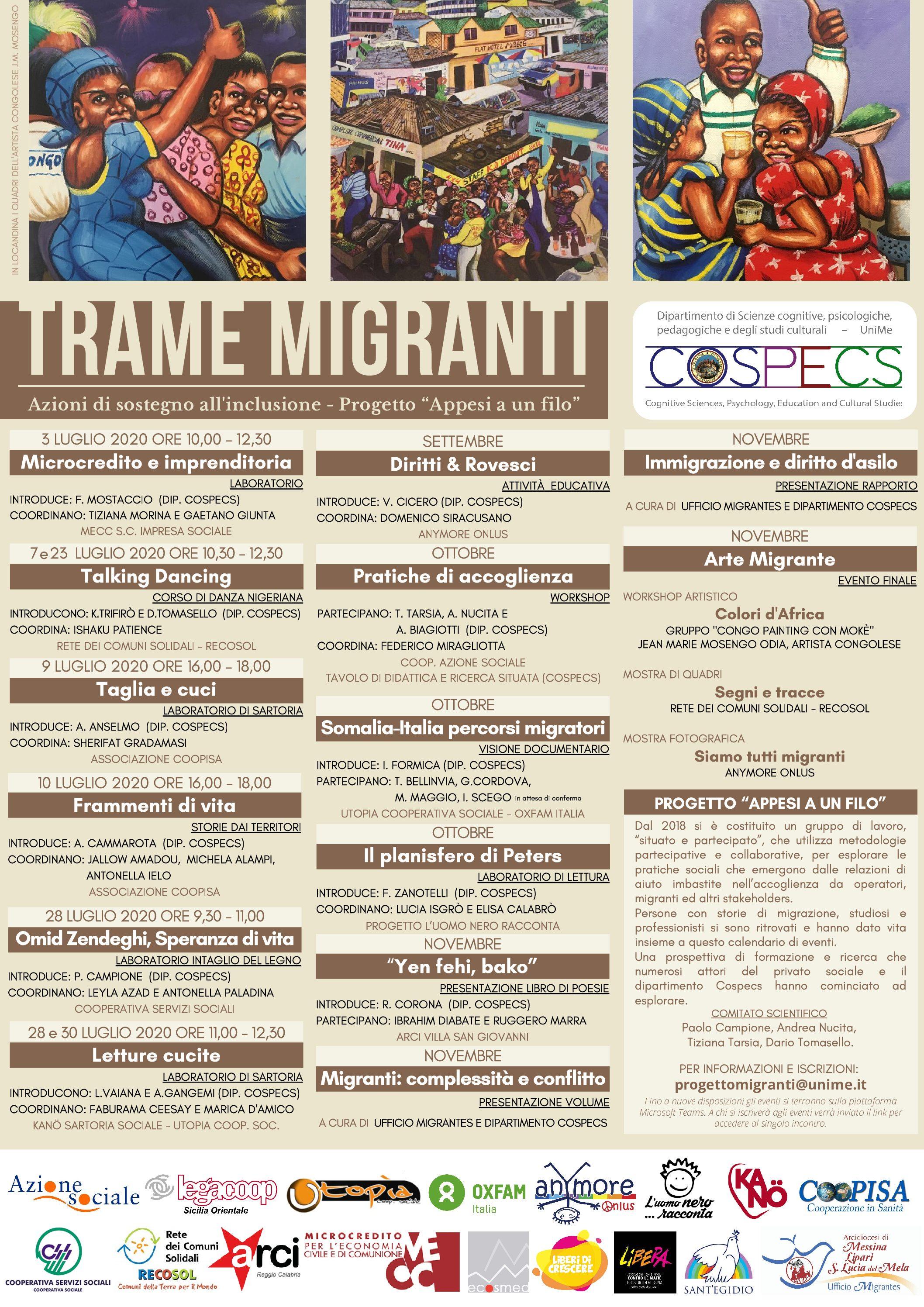 Trame migranti: far crescere il territorio attraverso le storie e le competenze dei migranti
