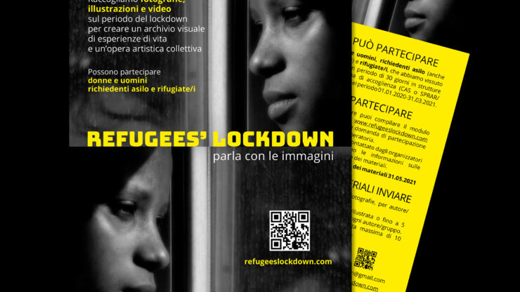 Refugees lockdown: parla con le immagini