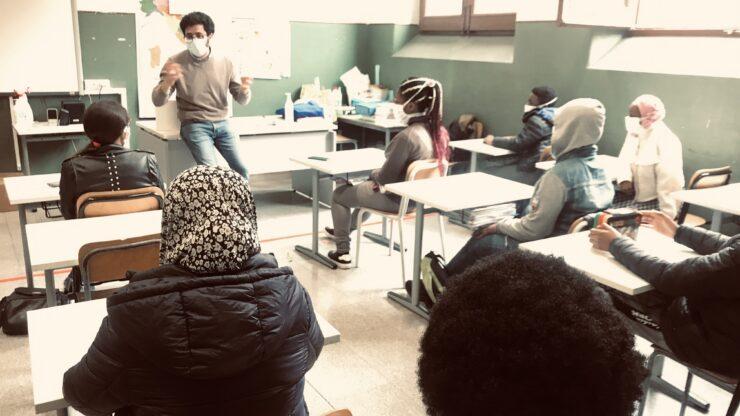 Laboratorio di Scrittura Creativa con i ragazzi dell'Istituto Perez Calcutta
